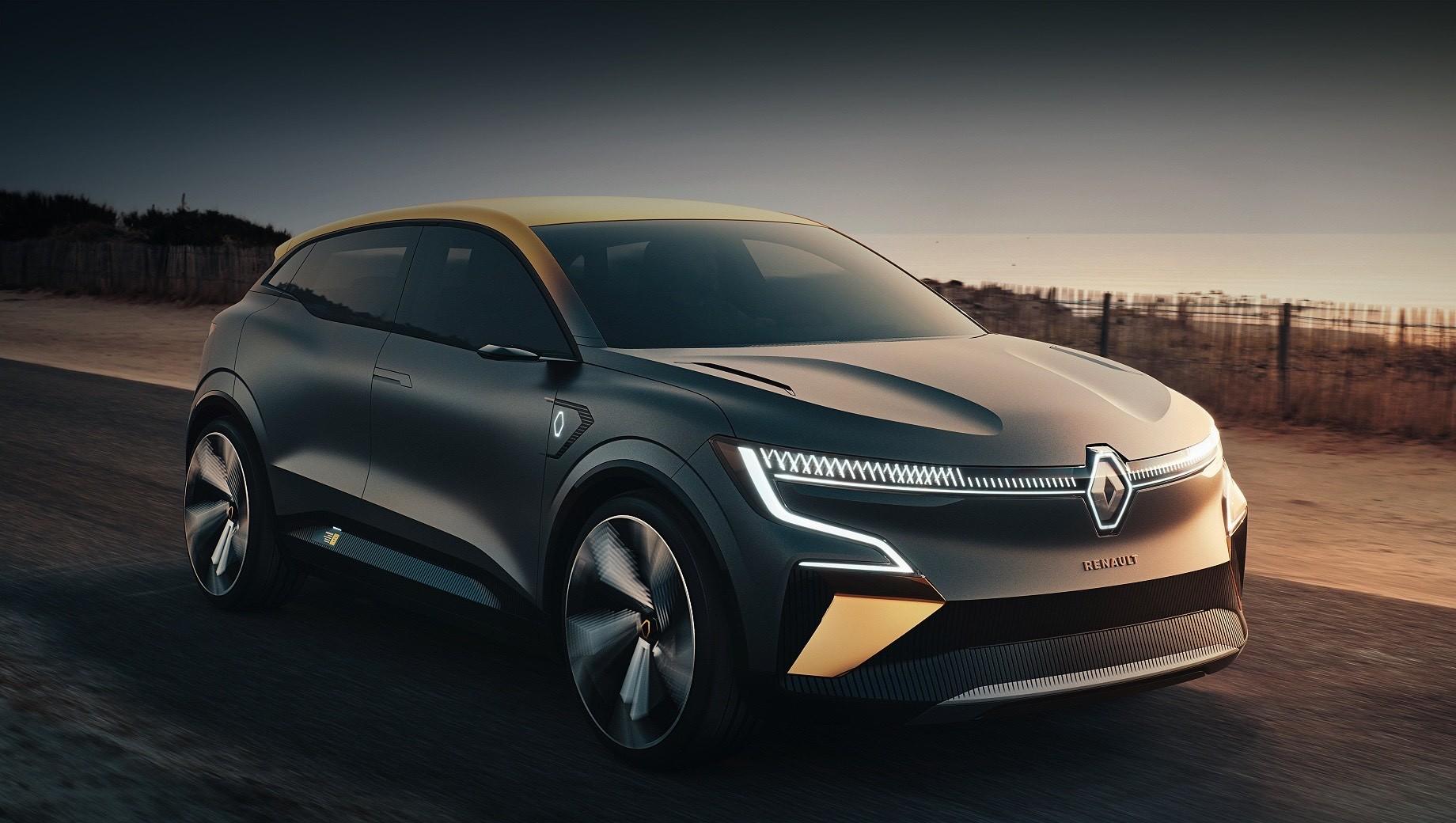 Renault Megane eVision став передвісником електрохетчбека