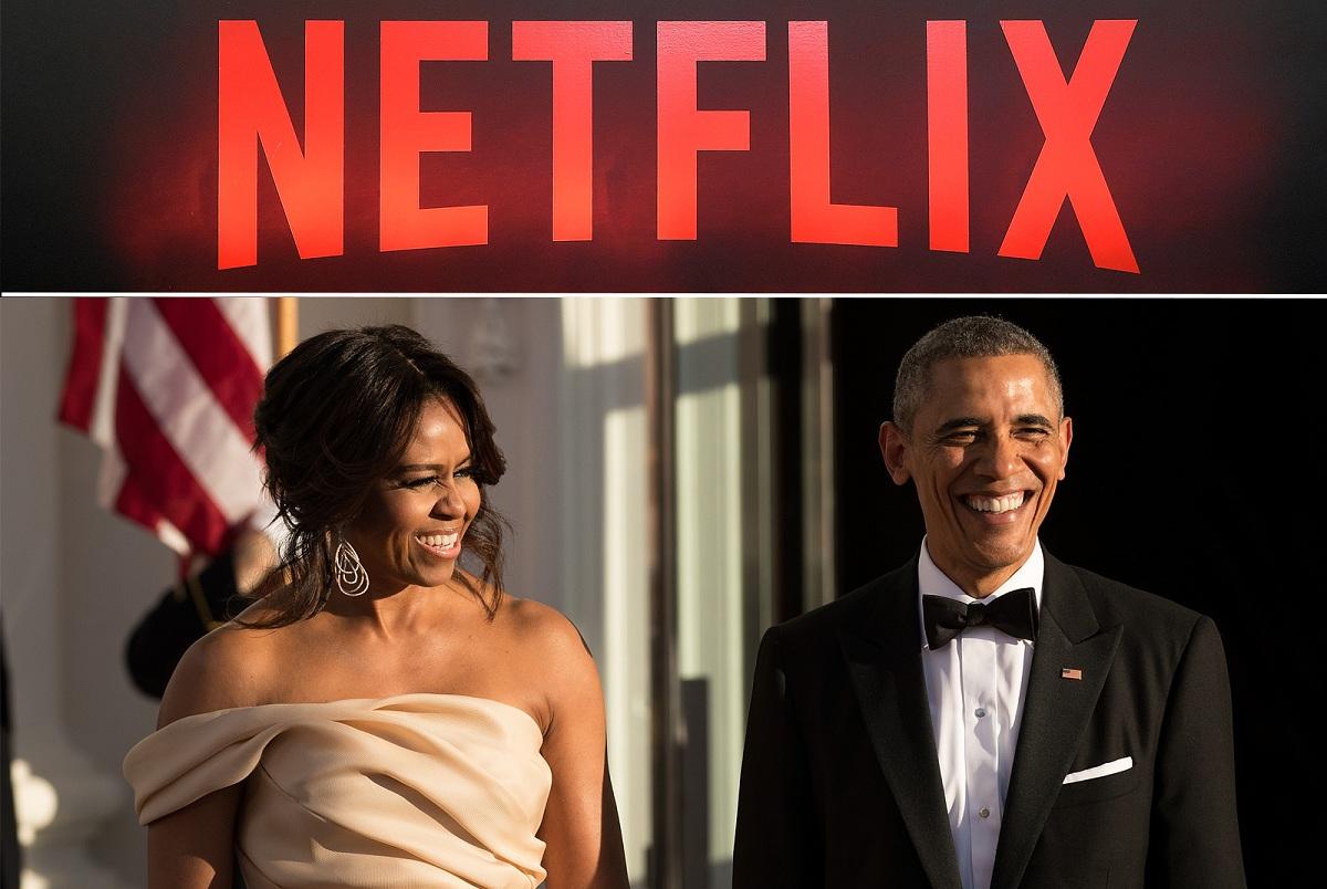 Мішель та Барак Обама знімуть фільм про Трампа для Netflix