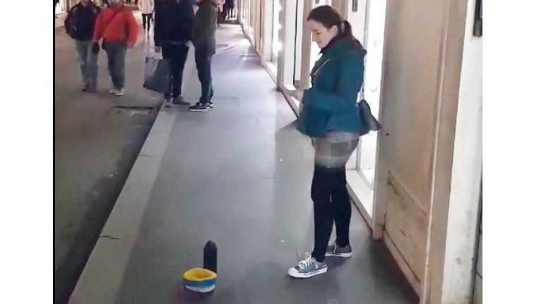 Львів'янка своїм оперним співом на вулиці у Римі підкорила мережу (ВІДЕО)