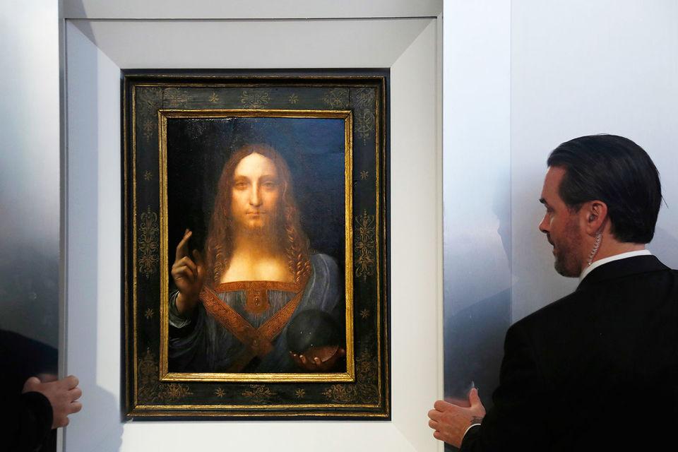 Найдорожча картина у світі: понад $450 млн дали за полотно Да Вінчі