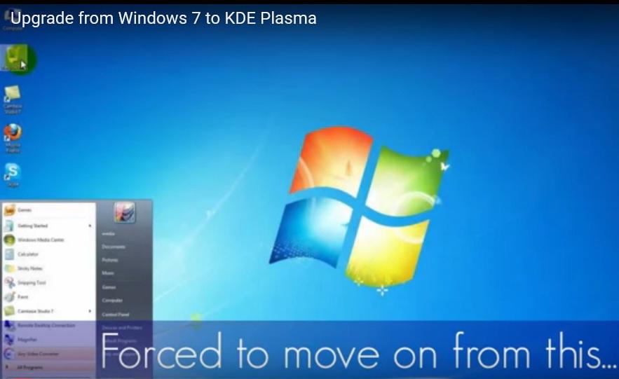 Юзерів Windows 7 заманюють переходити на Linux (ВІДЕО)