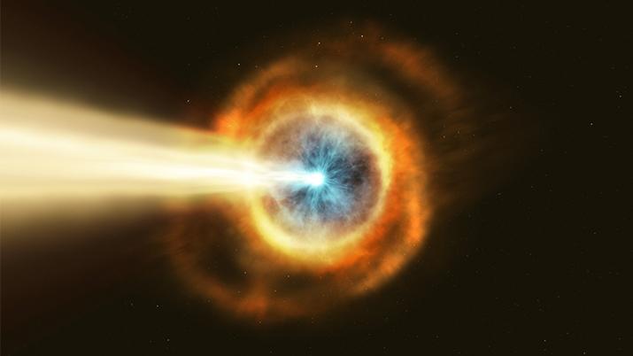 Зафіксовано найпотужніший сплеск енергії у Всесвіті (ВІДЕО)