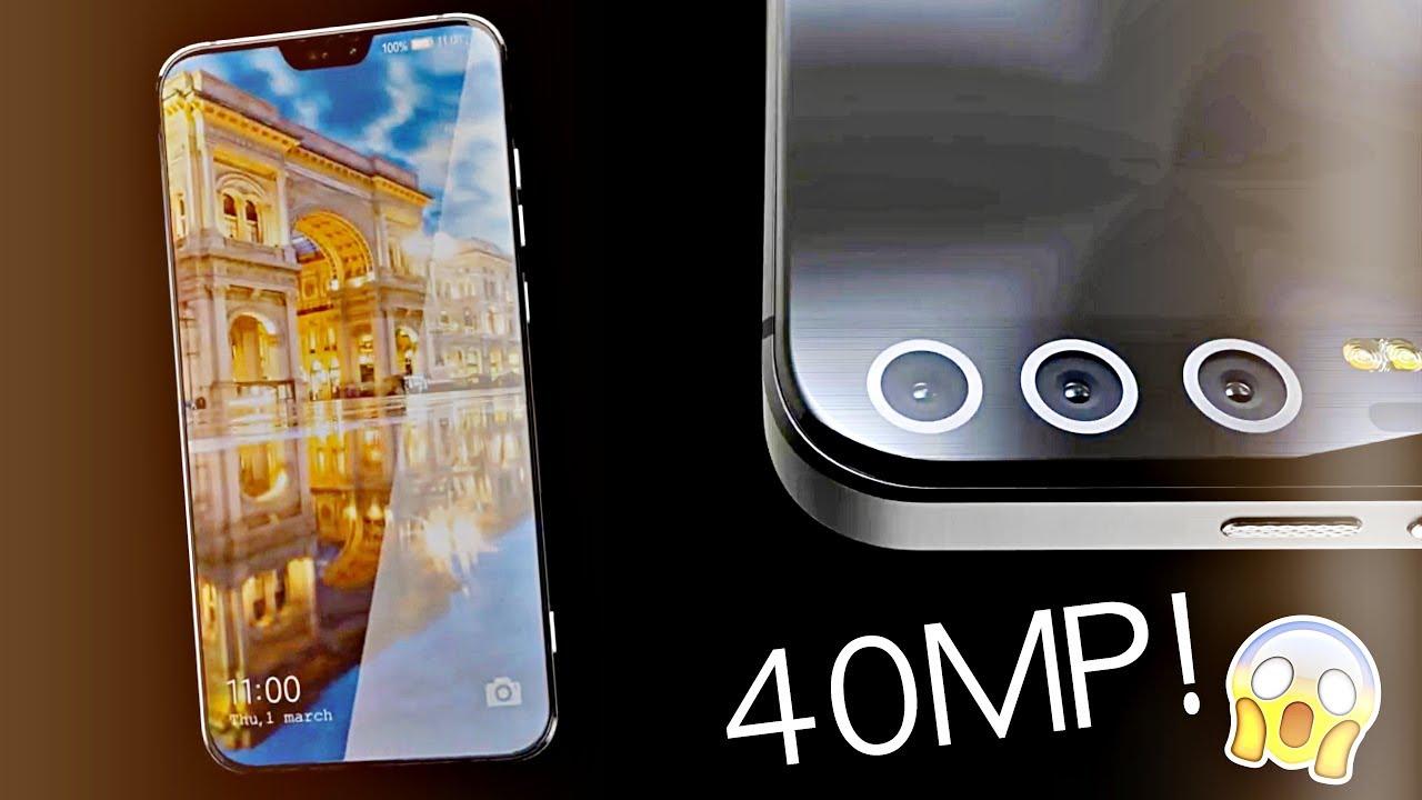Флагманський смартфон Huawei матиме потрійну камеру на 40 Мп (ВІДЕО)