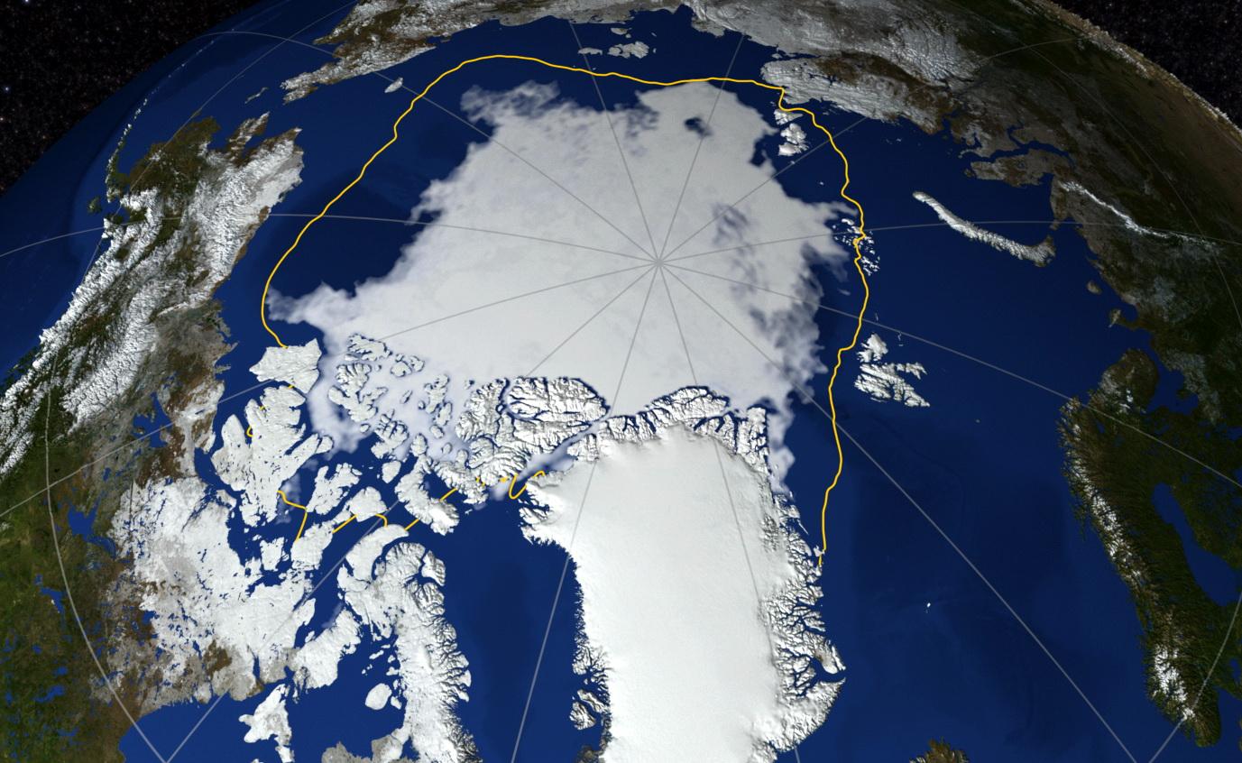 У NASA зафіксували рекордне танення арктичних льодів (ВІДЕО)