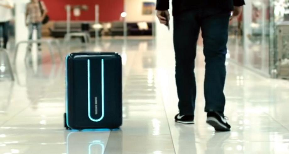 Американці придумали валізу, яка сама їздить за власником (ВІДЕО)