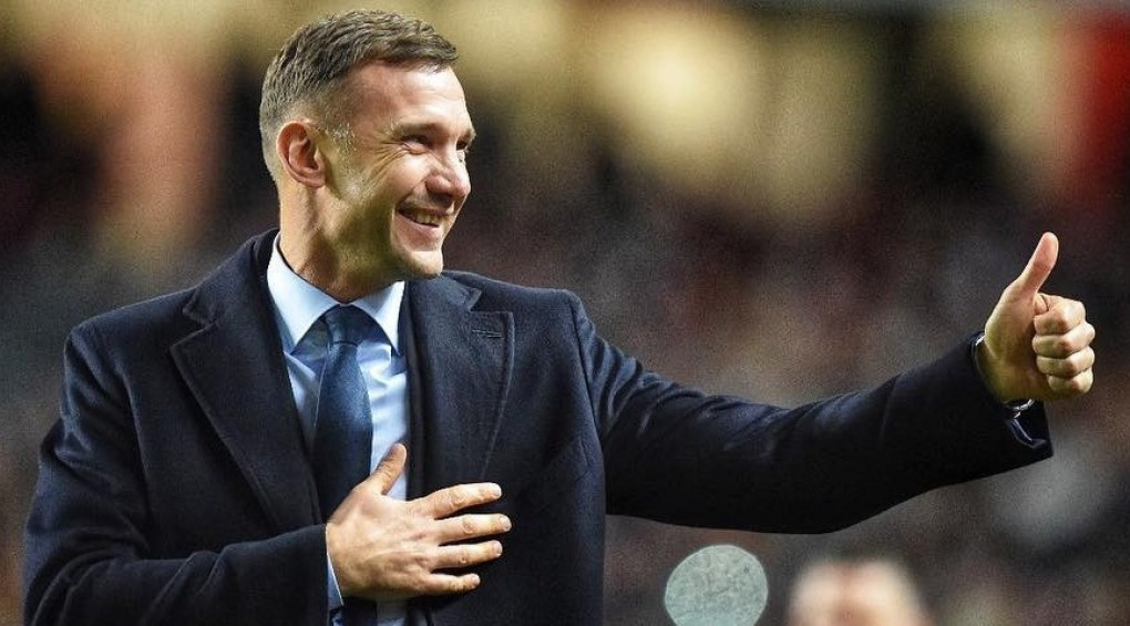 Шевченко – серед 10 найкращих тренерів світу