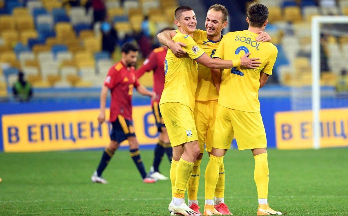 Видатні перемоги збірної України