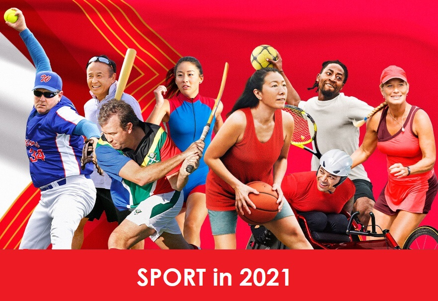 Календар спортивних подій на 2021 рік