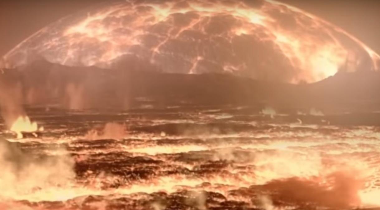 14 млрд років розвитку Всесвіту «втиснули» в 11 хв (ВІДЕО)